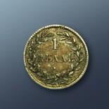 1 reaal - 1821 Curacao