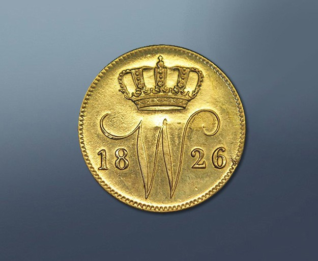25 cents - 1826 The Netherlands