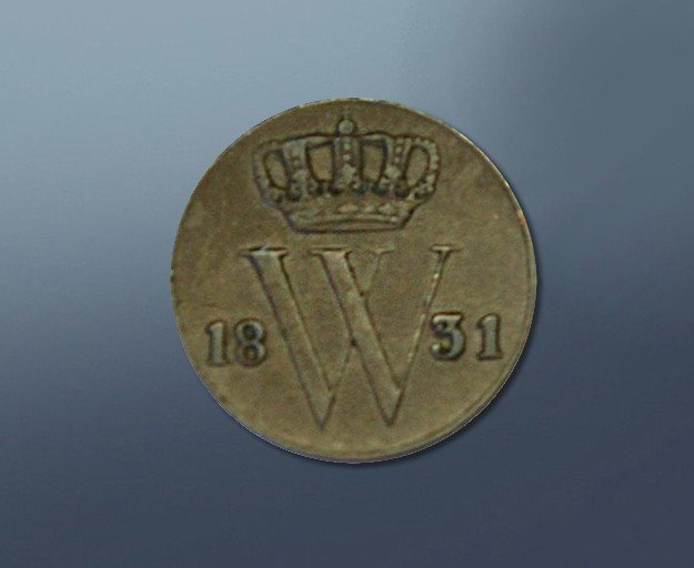 0,5 cent - 1831 The Netherlands