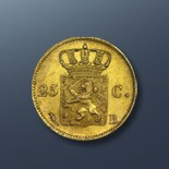 25 cent - 1824 The Netherlands
