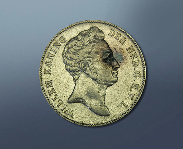 1 guilder - 1840 The Netherlands