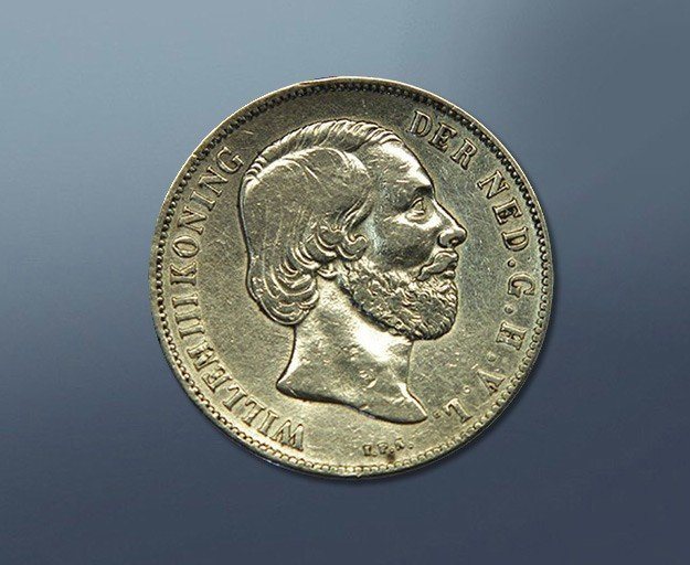 1 guilder - 1851 The Netherlands