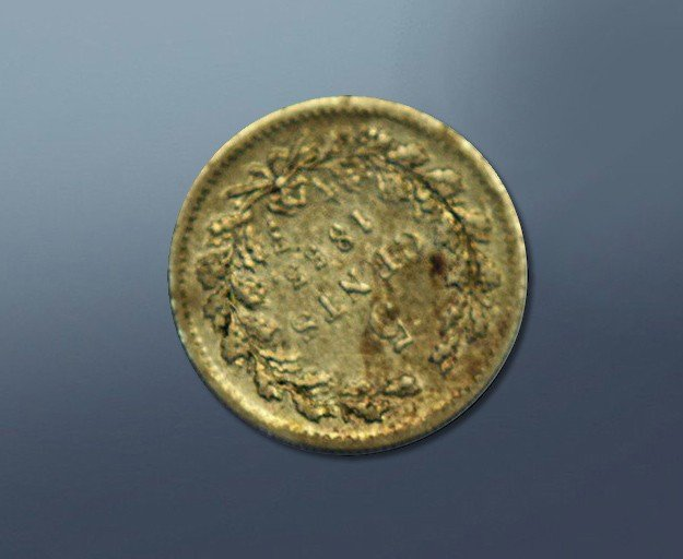 5 cents - 1853 The Netherlands