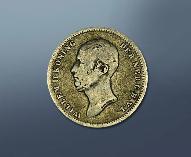 25 cent - 1848 The Netherlands