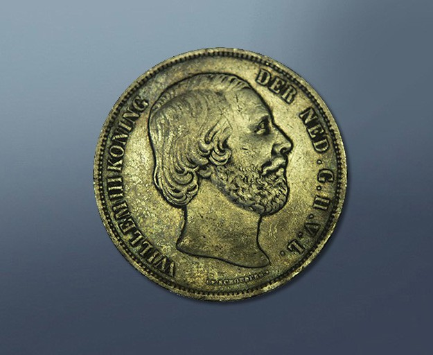 2,5 guilder - 1850 The Netherlands