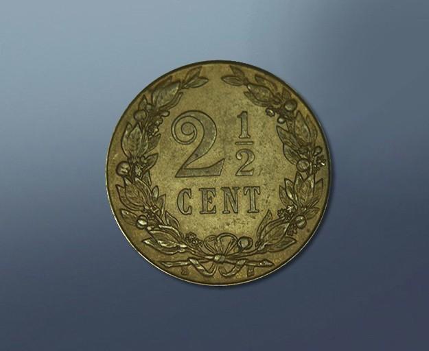 2,5 cents - 1903 Curacao