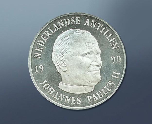 Johannes Paulus II - 1990 Curacao
