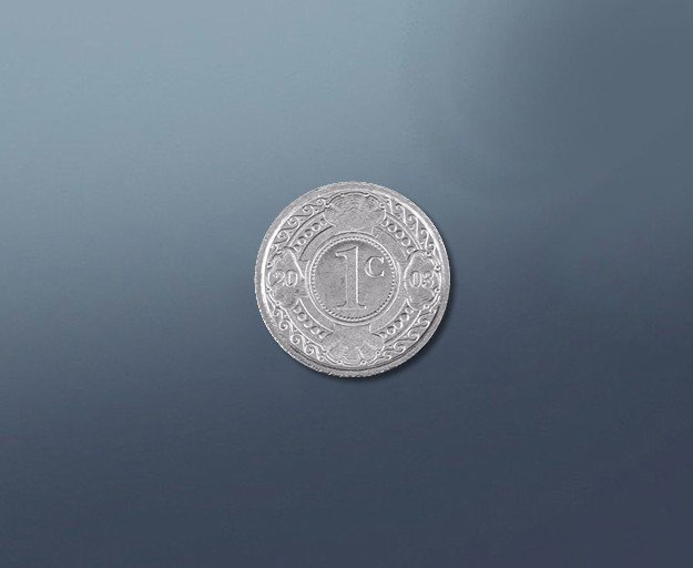 1 cent - current Curacao