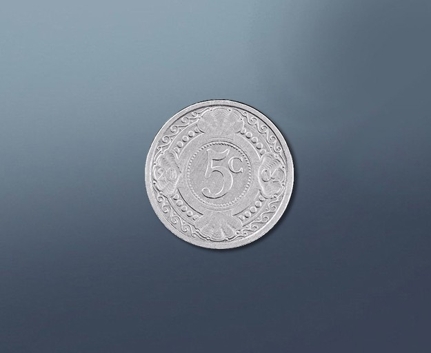 5 cent - current Curacao