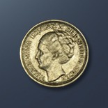 10 cents - 1943 The Netherlands