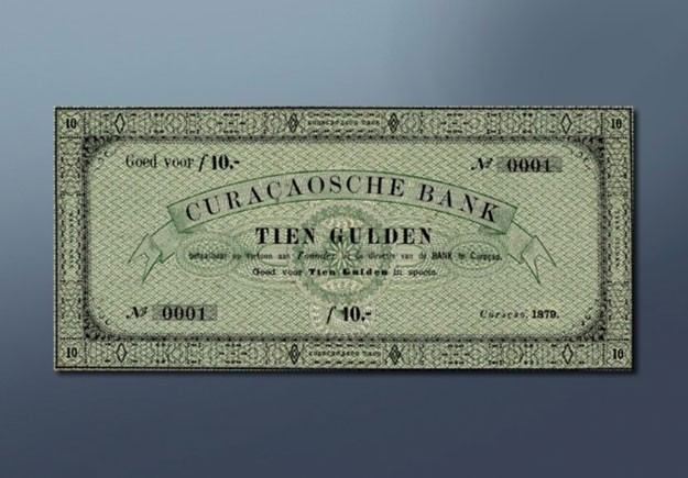10 guilder banknote 1879 Series