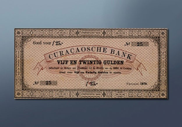 25 guilder banknote - 1879 Series