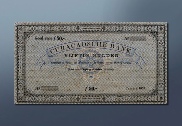 50 guilder banknote 1879 Series