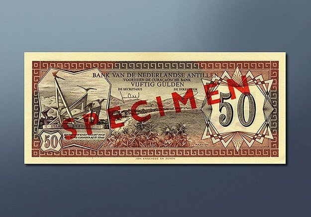 50 guilder banknote 1972 Series