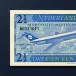 2,5 guilder banknote 1970 Series
