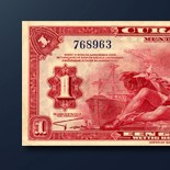 1 guilder banknote 1942 Series