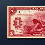 1 guilder banknote 1947 Series