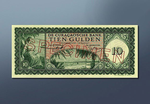 10 guilder banknote 1954 Series