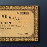 5 guilder banknote 1879 Series