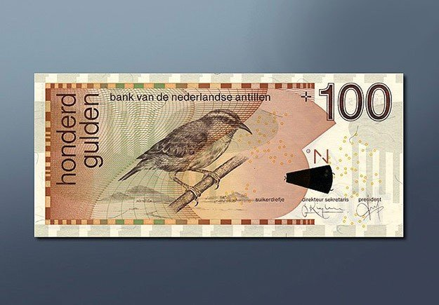 100 guilder banknote 1998 Series