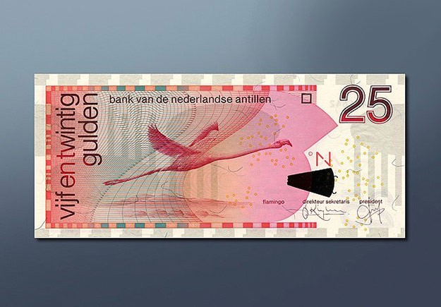 25 guilder banknote 1998 Series