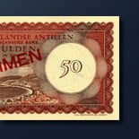 50 guilder banknote 1962 Series