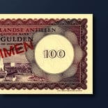 100 guilder banknote 1962 Series