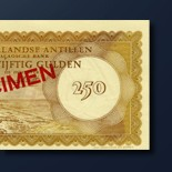 250 guilder banknote 1962 Series