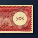 500 guilder banknote 1962 Series